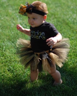 Purdue tutu - Boiler up! I am doing this to my children...