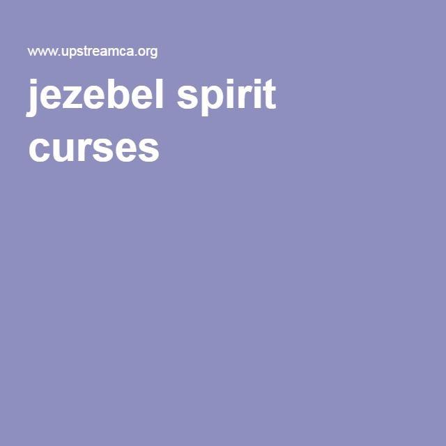 jezebel spirit curses