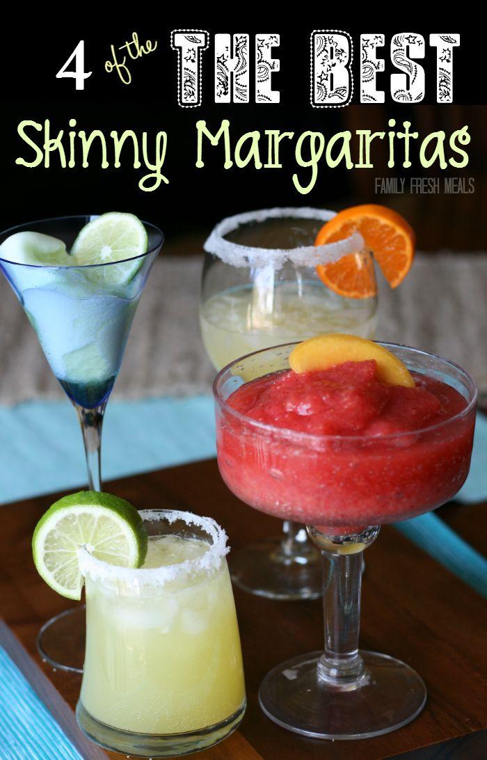 4 skinny margarita recipes