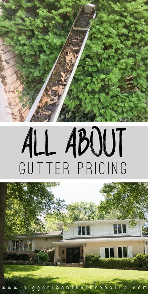 All The Details On Cost for Replacing Gutters | Replacing ...