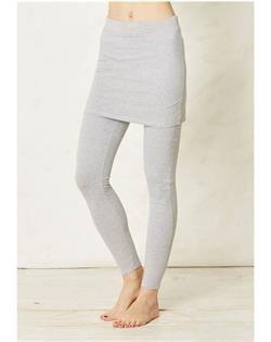 Leggings med indbygget nederdel