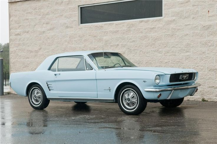 66' ford mustang