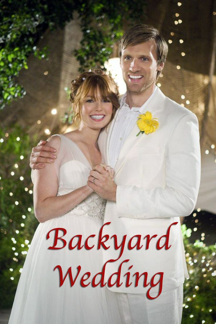 christmas wedding planner imdb Wedding movies, Backyard