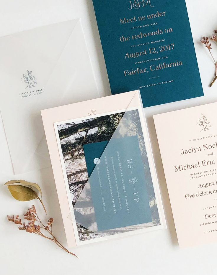 what to charge for wedding invitations%0A Understated Blush and Teal Wedding Invitations
