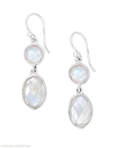 Lunar love meets high style. Moonstone, Sterling Silver. $59 shop it: www.mysilpada.com/jette.delaune