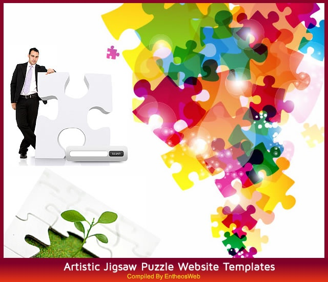 25 best Jigsaw Puzzle Web Design images on Pinterest Puzzles - puzzle piece template