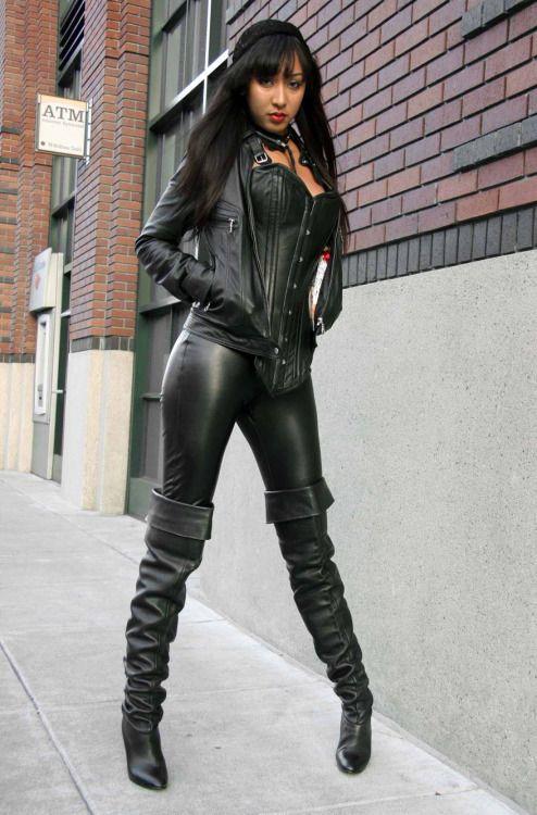 Leather leggins chica en calzas de cuero - 2 part 7