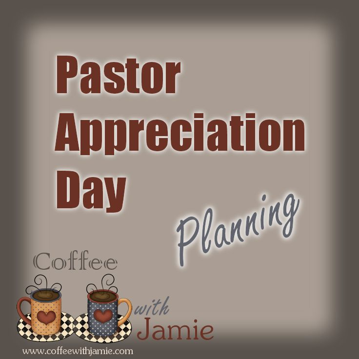 October is Pastor Appreciation Month. I am in charge of planning our Pastor Appreciation celebration at our small church and I'm always looking for great ideas! What is Pastor Appreciation Day? Pas...