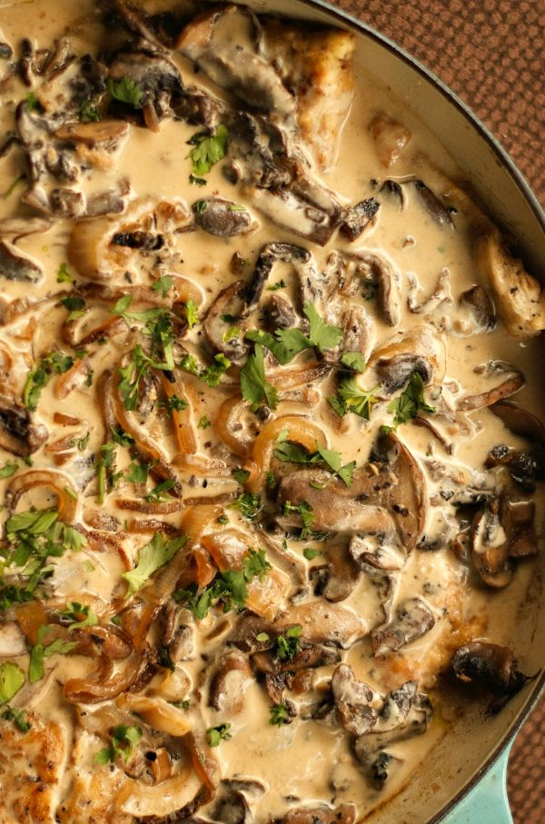 Chicken Marsala | ReluctantEntertainer.com #CleanFeelsGood