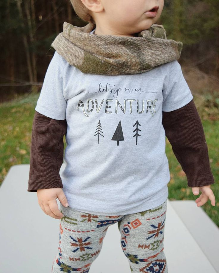 Adventure tee in heather grey from Learn Live Hope Co