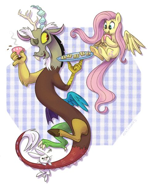 discord and fluttershy relationship