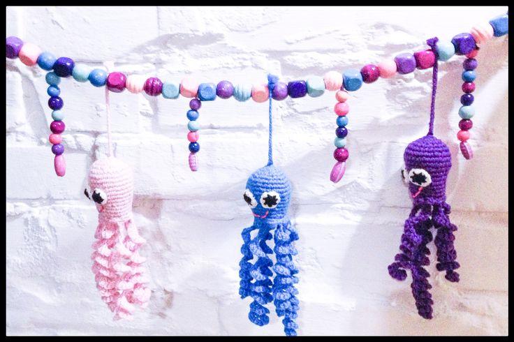 Crochet - hæklet barnevognskæde #obber