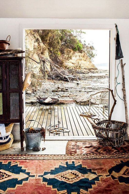 Boho Living Room Carpet