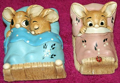 Pendelfin Rabbits. Didn't every home have at least one of these in the 70's ? We had Dodger, and he's still in my curio cabinet :)