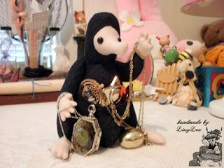 Handmade by Lissy Lou: Niffler (inspired by the Harry Potter Series)