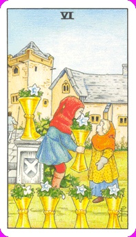 TAROT TIPS: The Message in The Title Card / 6 of Cups / Reading For The Younger Set http://www.tarotschool.com/TarotTips110315.html
