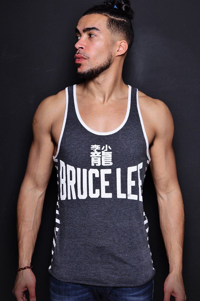 Bruce Lee Legacy Striped Tank | Roots of Fight