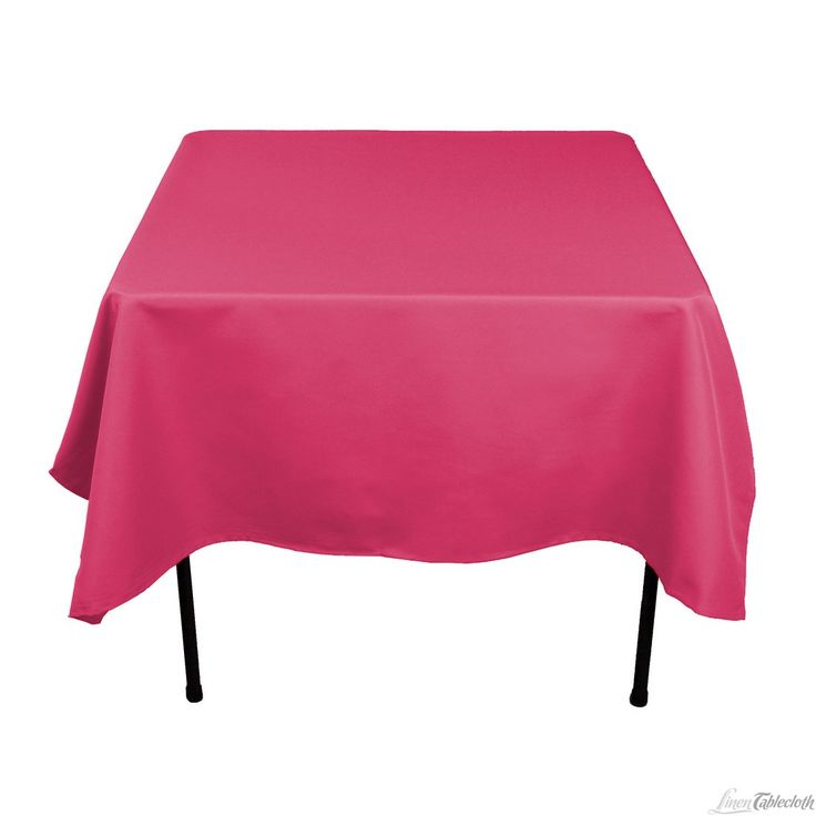 Need 2: Buy 70 Inch Square Fuchsia Tablecloth For Weddings At  LinenTablecloth! Seamless And