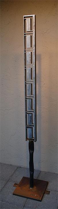 Iron Sculpture by: Jeff Owen