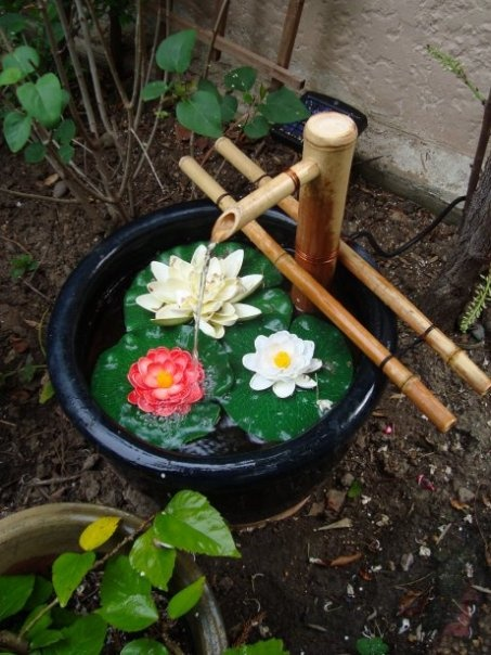 Homemade Garden Fountain Garden Ideas Pinterest