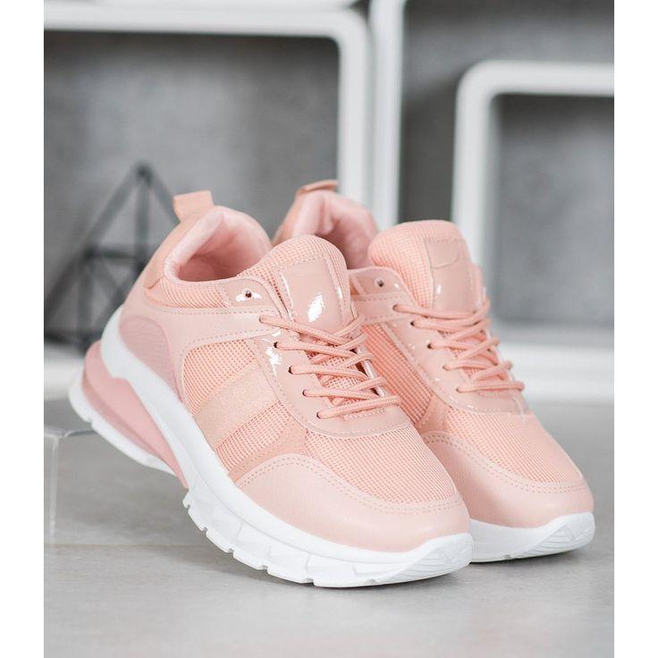 Shelovet Stylowe Sneakersy Z Siateczka Rozowe Sneakers Adidas Tubular Adidas Sneakers
