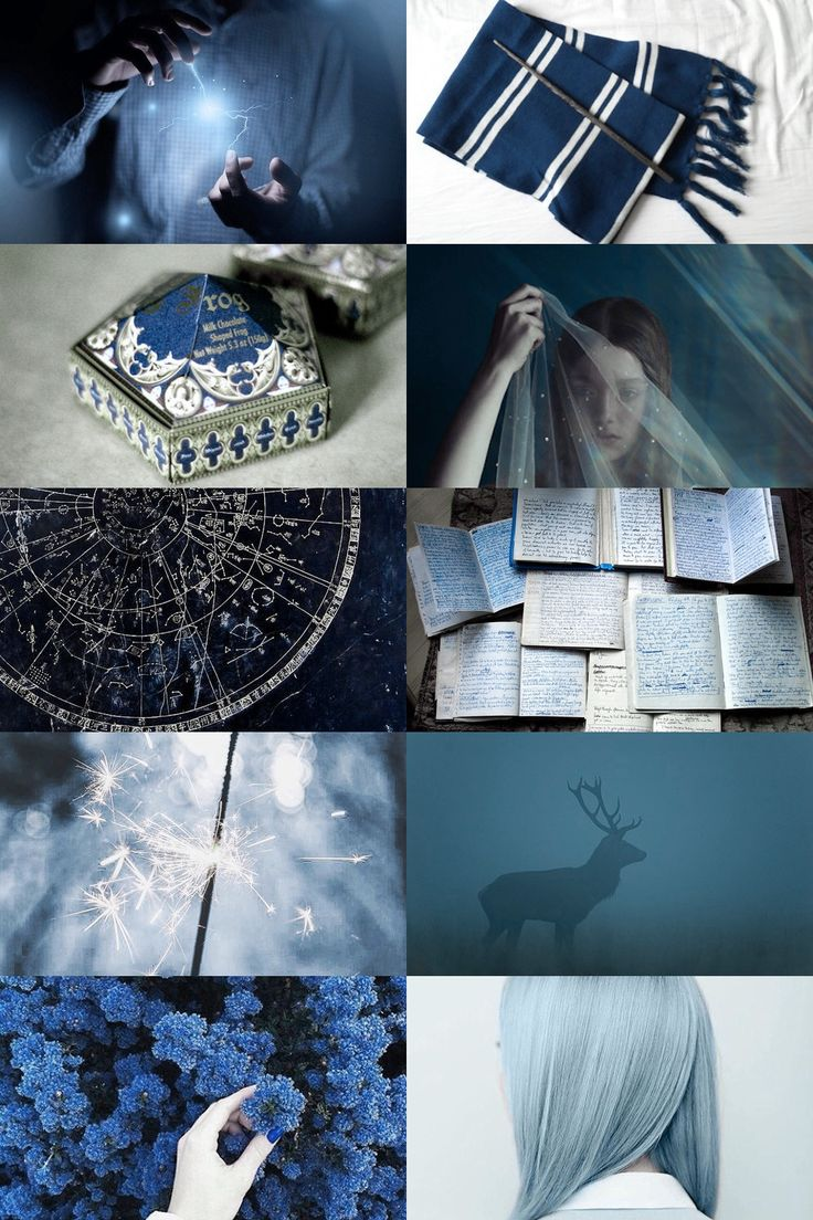 ravenclaw aesthetic (more here)