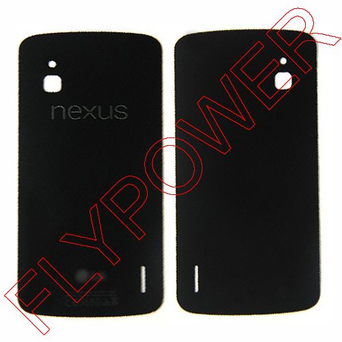 back case battery door glass Housing FOR LG Google Nexus 4 E960 LCD cover by free shiping