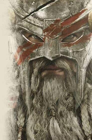 Blue eyed Viking