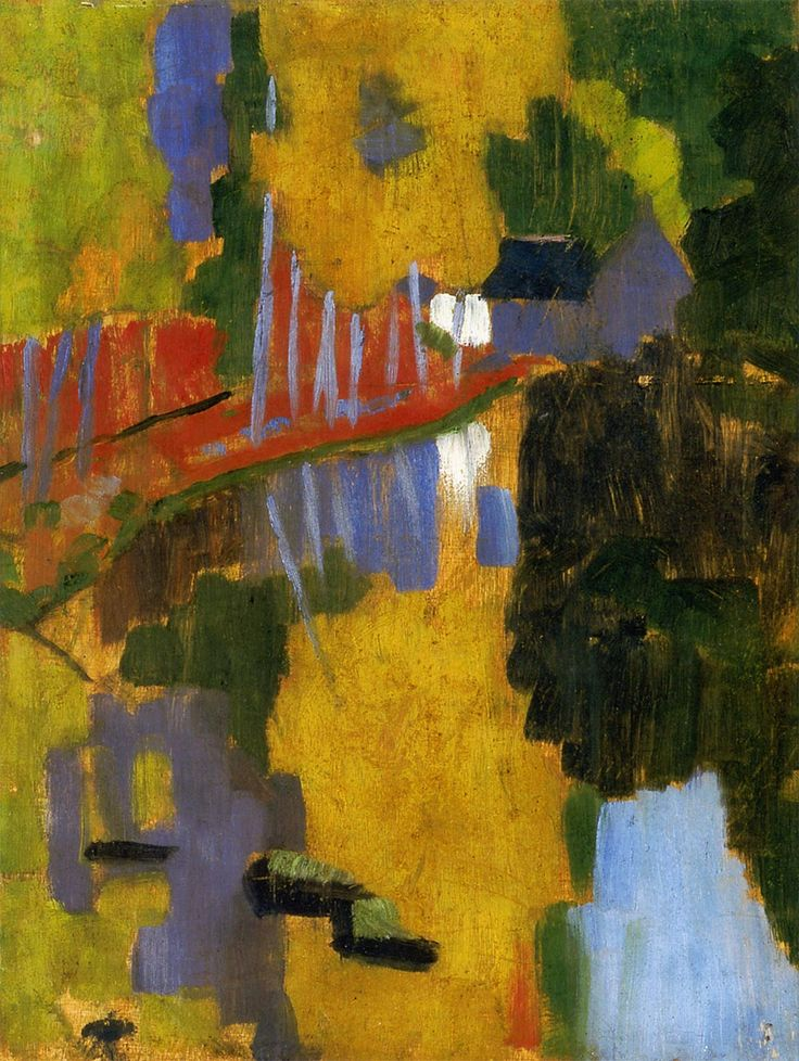 The Talisman by Paul Serusier #synthetism