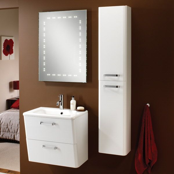 Modern And Traditional Palamas Tall Storage White Unit Contemporary Design
