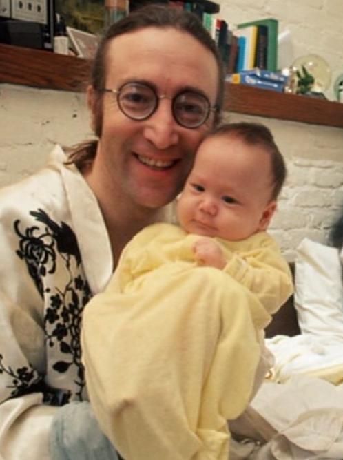 John and baby Sean,