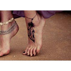 Ich bin mir nicht sicher über die Feder, aber ich liebe das Konzept. Schönes Tattoo!
