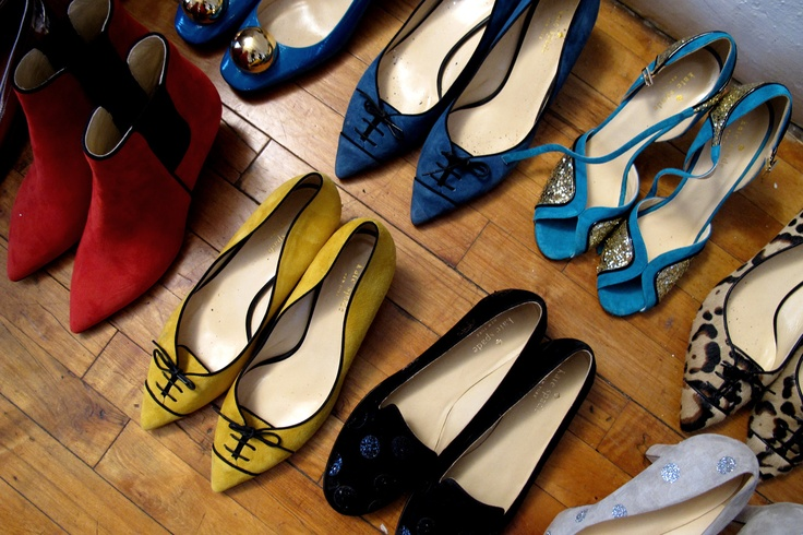 Colorful shoes from kate spade new york fall 2012 collection
