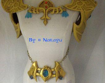 Armadura de hombro Princesa Zelda por NarayuCrea en Etsy