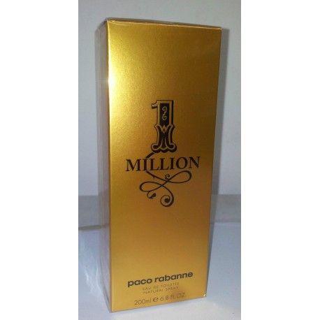 Paco Rabanne One Million, Eau de Toilette Vaporisateur pour Homme 200 ml, à petit prix. #parfum #vente #achat #echange #produits #neuf #occasion #hightech #mode #pascher #sevice #marketing #ecommerce