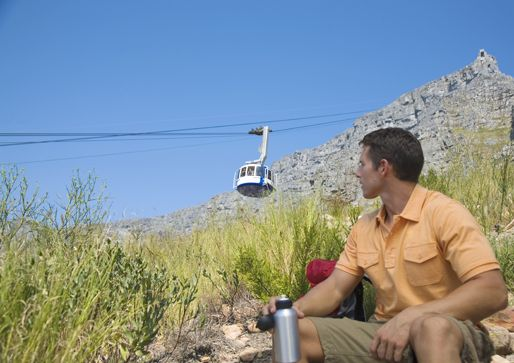 Cable car up Table Mountain  http://www.ihcapetown.com/index.php/en/features-3/sample-content/photos/cape-town