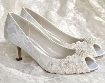 Wedding Shoes Custom 250 Color Choices PBP Vintage by Pink2Blue