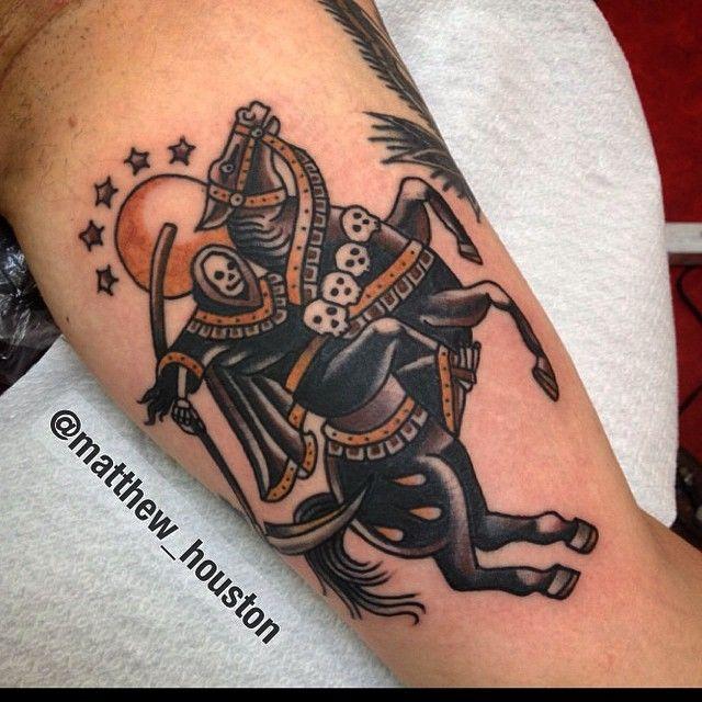 illustratedgentleman:  Reaper riding a horse for Sven - Thanks mate #reaper…