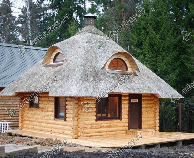 Проекты деревянных и комбинированных гостевых домов с привязкой к участку