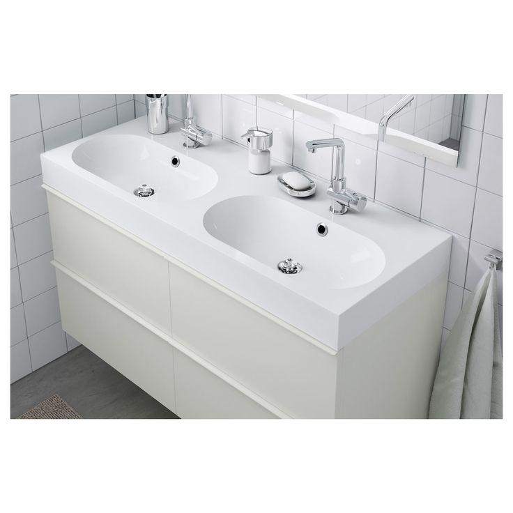 BRÅVIKEN Waschbecken/2   weiß   IKEA Österreich in 2020 ...
