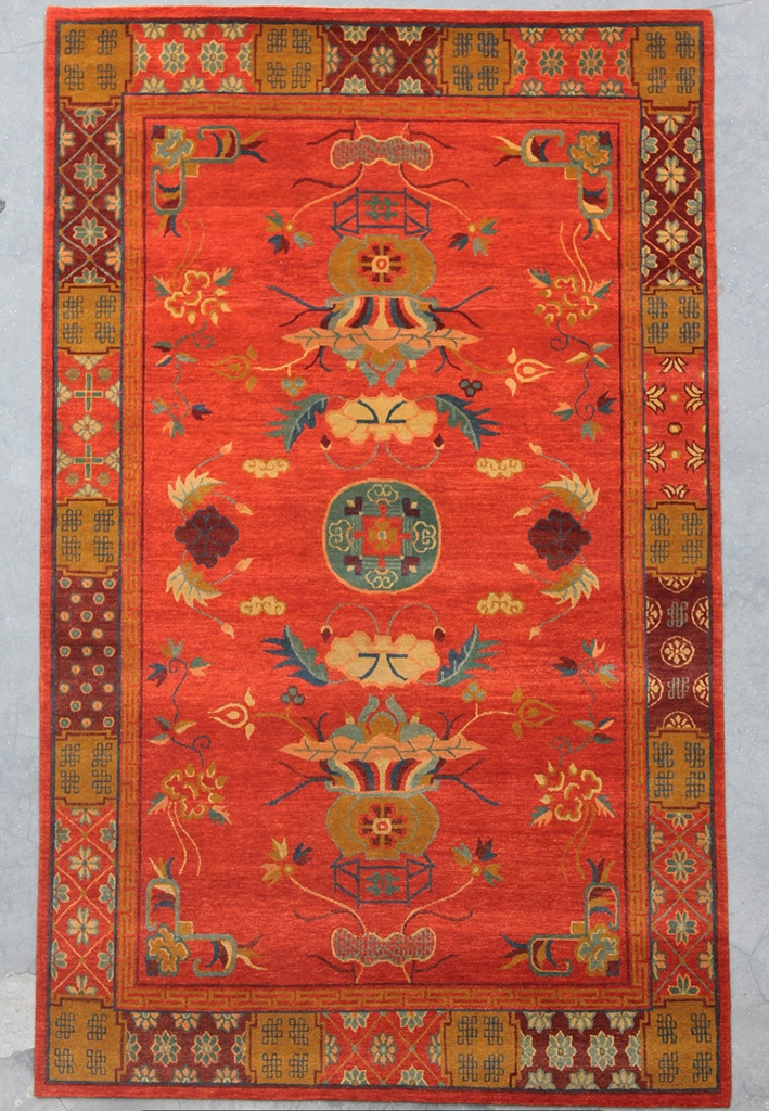 Handmade Area Rug By Tibetan People Living In Nepal The Rugs This Collection Have