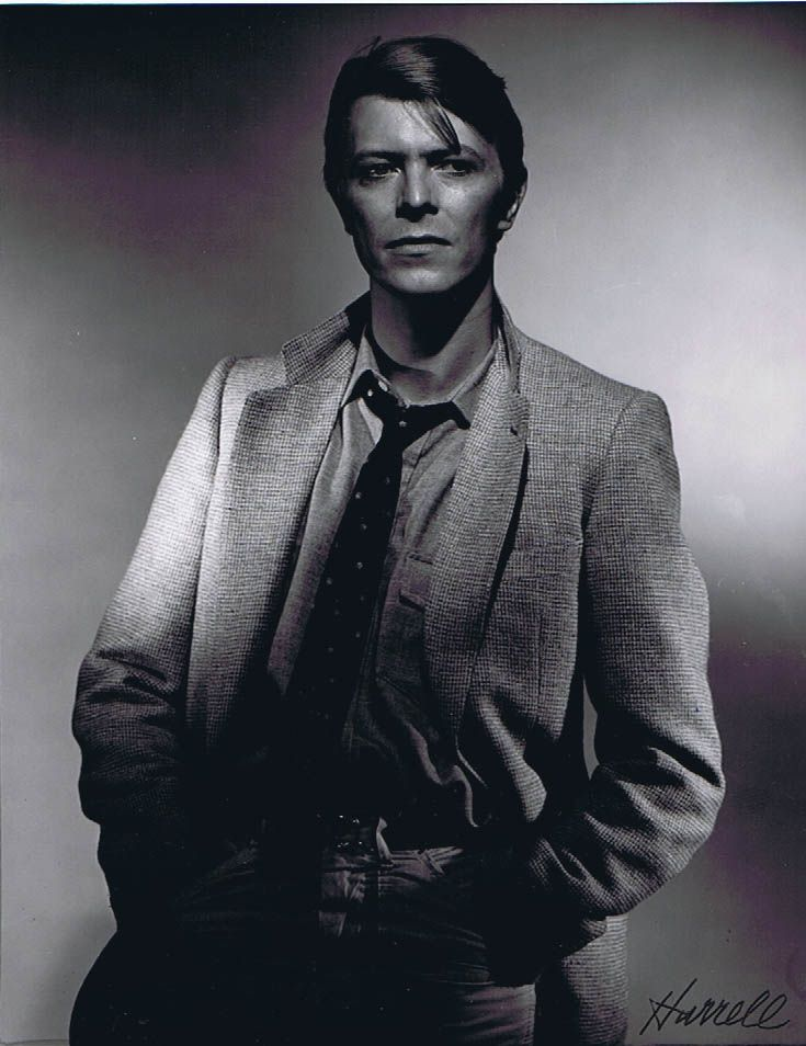 George Hurrell - David Bowie (1978)
