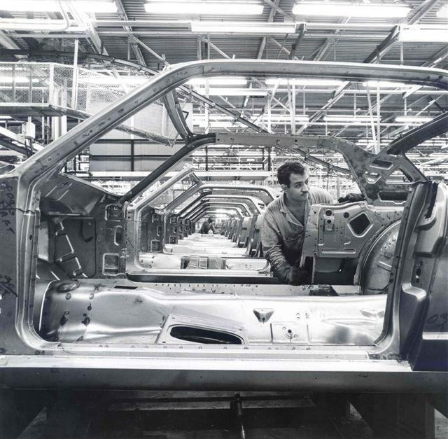 Nice Shells On The Assembly Line Mustangs Coming to Life