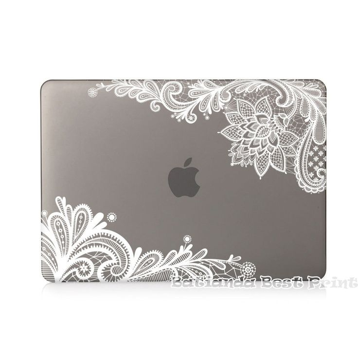 Air Pro 13 inch Lace Girls Gifts Rubberized Matte Hard Case for Apple MacBook Pro 13.3 15.4 12 11 with Retina Display Sleeve