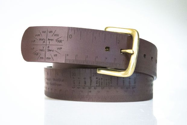 Picture of Measuring Tape/Belt — A pocket reference for your waist