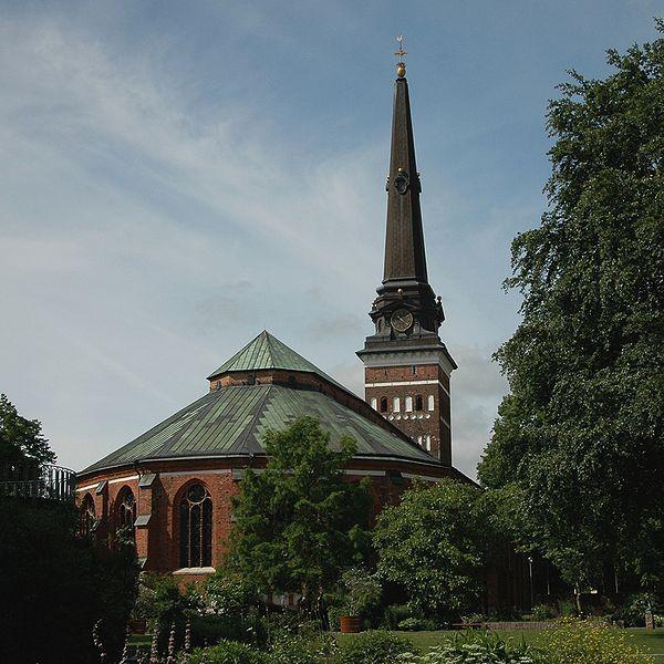Västerås domkyrka, 13th century. Modified in 15th century and 19th century