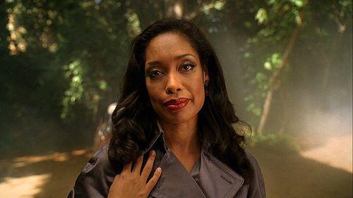 Torres en el papel de Lila Robinson en el programa Pushing Daisies.