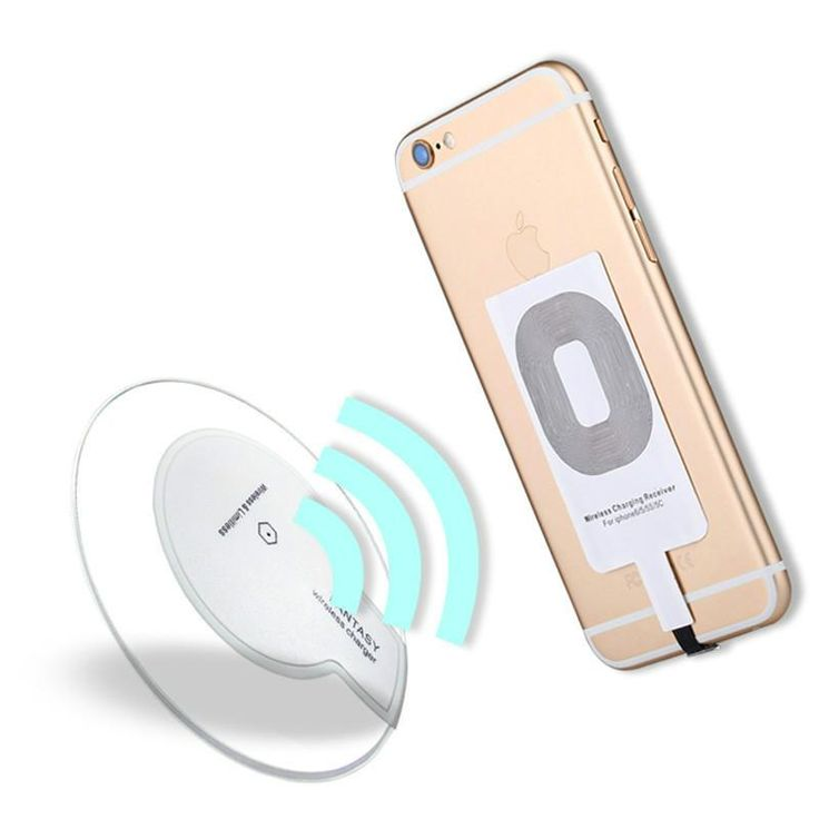 Ultra Thin Universal Receiver Qi Standard Wireless Charger Charging Pad Mat for Samsung S6 iPhone Micro USB