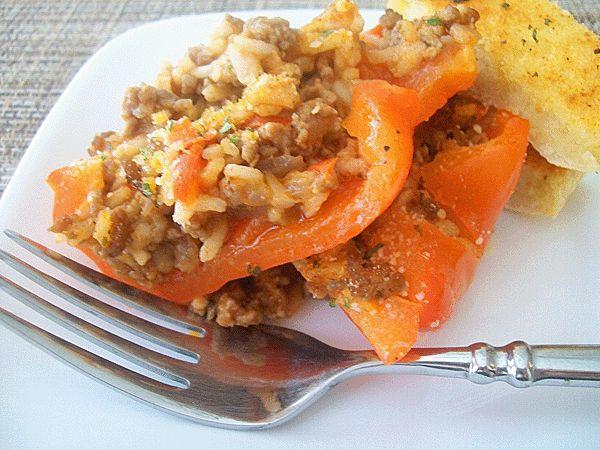 Stuffed Peppers Casserole
