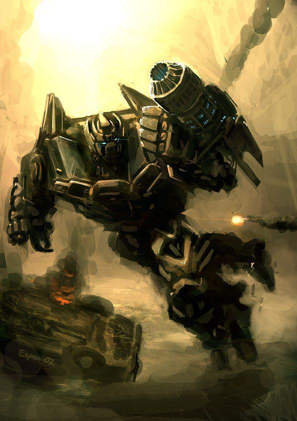 Ironhide - Transformers - Espen Grundetjern
